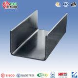 Formati delicati della Manica d'acciaio della Manica U del acciaio al carbonio di ASTM A53