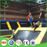 Bambini corso dell'interno del guerriero di Ninja dell'adulto e del trampolino di Sviya di approvazione del Ce