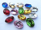 Pedra extravagante de cristal de 2014 formas em 10*14 13*18mm