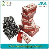 Casella di carta riciclata del Uo del nido di Eco dell'insieme rigido Handmade amichevole del regalo