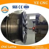 높은 정밀도 Awr28 합금 바퀴 수선 CNC 선반 기계