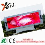 P10 im Freien wasserdichte LED Baugruppen-Bildschirm-Bildschirmanzeige bekanntmachend