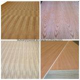 Rechte Lijn Natuurlijke Amerika Cherry Fancy Plywood / Veneer ogen gezien Triplex / Veneer gelamineerd Multiplex / Gefineerde Plywood