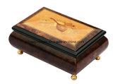 Boîte-cadeau en bois de musique de fini à haute brillance de piano