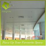 150mmw aluminium Decoratief haak-op de Tegels van het Plafond in Houten Kleur