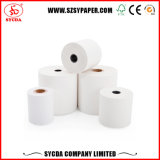 Resistente al agua 80X80 55GSM rollos de papel para impresora térmica de tickets