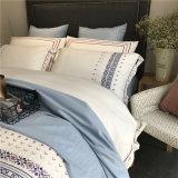 China proveedor bordado al por mayor ropa de cama de algodón (JRD195)
