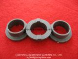 Colar cerâmico do selo do carboneto de silicone do preto da precisão da alta qualidade