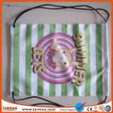 Bolsos de encargo de la tela de la impresión reutilizable de Digitaces del regalo