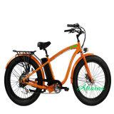 전기 뚱뚱한 자전거 48V 14.5ah 리튬 건전지 750W 후방 허브 모터 전기 자전거