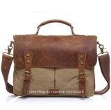 Полотно из натуральной кожи мужчин строп сумка для ноутбука Сумка почтальона