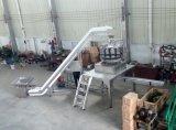 Automatique de petites vis et clous dans le carton de remplissage du système de pesage à fonctionnement