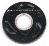Фитнес-Grip резиновые пластины Barbell Barbell черная резиновая пластина