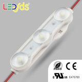 3 LED resistente al agua 12V LED SMD 2835 para el módulo de retroiluminación