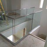 Het Traliewerk van het Glas van Frameless van Oudoor voor de Ontwerpen van het Traliewerk van het Balkon van het Glas