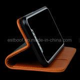 Caixa material do telefone do couro o mais novo do projeto para o iPhone