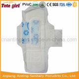 Unbegrenztheit roch gesundheitliche Serviette der 300mm Baumwolltagesgebrauch-Dame-Anion