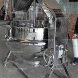 Acero inoxidable Industrial basculante y chaqueta de calentamiento eléctrico hervidor de agua
