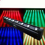 8X 10W LED棒ビーム移動ヘッドイベントライト