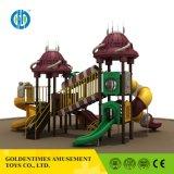Китайского поставщика Продажа Оформление игровая площадка для использования вне помещений слайд-оборудования