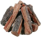 Registro da fibra cerâmica para o poço do incêndio do álcôol etílico e de gás