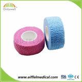 Sem látex veterinário elástica bandagem auto-adesiva Desporto Coeso