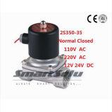 elettrovalvola a solenoide dell'acciaio inossidabile di serie 2s160-15