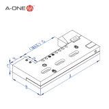a-One Wedm 사용 3A-210015를 위한 조정가능한 Wire-Cut 맷돌로 가는 관 죔쇠 벤치 바이스