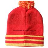 工場農産物は刺繍されたオレンジジャカードによって編まれる帽子をカスタム設計する