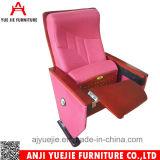 アルミニウム足ファブリックカバー一等級の講堂の椅子Yj1613V