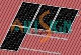 Sistema del montaje de la en-Azotea del azulejo para la instalación del panel solar
