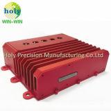 Kundenspezifisches CNC-Aluminiumgehäuse mit maschinell bearbeitendem und CNC Prägen CNC