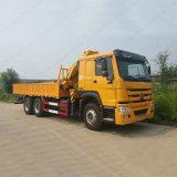 Sino eingehangener Kran des LKW-HOWO 6X4 25tons LKW für Verkauf