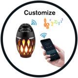 Flamme LED étanche à l'extérieur de la danse de scintillement Torch haut-parleur Bluetooth