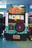 동전에 의하여 운영한 아케이드 게임 기계는 가자 정글