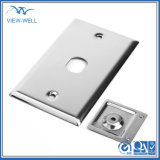 lámina metálica de aluminio de alta precisión pieza de estampado de Hardware