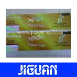 工場卸し売り管状の薬剤の習慣10mlのホログラムのガラスびんのラベル