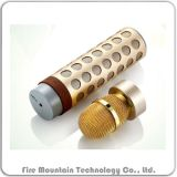 S-602 Karaok Bluetooth 금속 스피커 지원 TF 카드