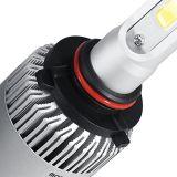 Автомобильный светодиодный фонарик для автомобилей Светодиодный свет автомобиля S2 9005 9006 COB 72W 8000lm LED Headlight