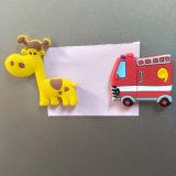 Magnete su ordinazione del frigorifero di figura rotonda del PVC di marchio per i regali