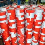 Rotes und weißes reflektierendes Band für LKW
