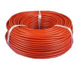Hitzebeständiger elektrischer überzogener Silikon-Gummi-Kabel-Draht