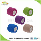 Non Woven Colored hospital Dressing Cohesive bandage