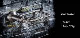 Ronde Stijl 304 de Toebehoren van het Bad van de Mand van de Zeep van het Roestvrij staal