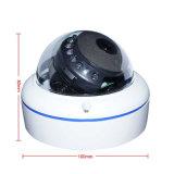 1.3MP金属のホームセキュリティーの低いルクスの機密保護IRのドームネットワークIPのカメラ