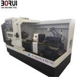 Flaches Bett CNC-Drehbank-Maschine der hohen Präzisions-Ck6140
