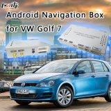 Androïde Auto VideoInterface 5.1 voor Golf 7 van VW met GPS de Download van Igo APP van de Navigatie