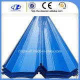 カラーによって塗られる(Prepainted)電流を通された波形の屋根ふきシート