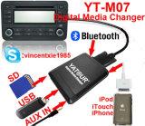 iPod iPhone Integrations-Audioinput-Schnittstellen-Installationssatz für ausgewähltes Toyota 03-11 Fahrzeuge