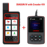 Lancering X431 Diagun IV X431 IV het Kenmerkende Hulpmiddel van WiFi Bluetooth van de Steun met Creader 419 OBD2 de Lezer van de Code Cr419